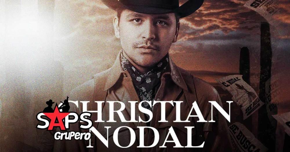 Christian Nodal se presentará en 18 ciudades de Estados Unidos