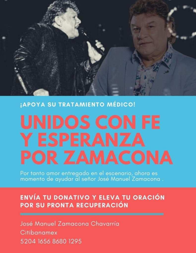 Donativo para José Manuel Zamacona