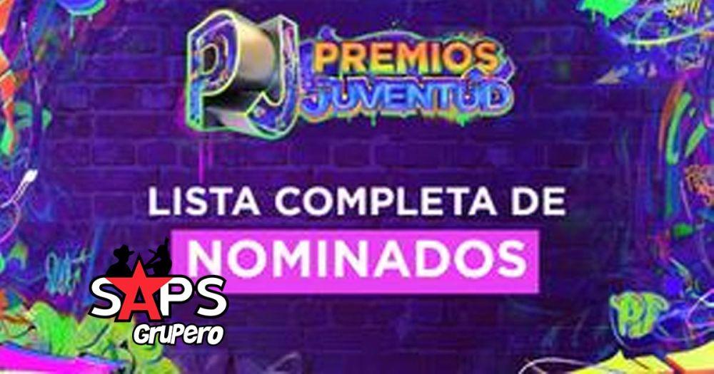 Nominados Premios Juventud 2021 del Regional Mexicano