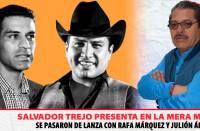 Se pasaron de lanzas con Rafa Márquez y Julión Álvarez