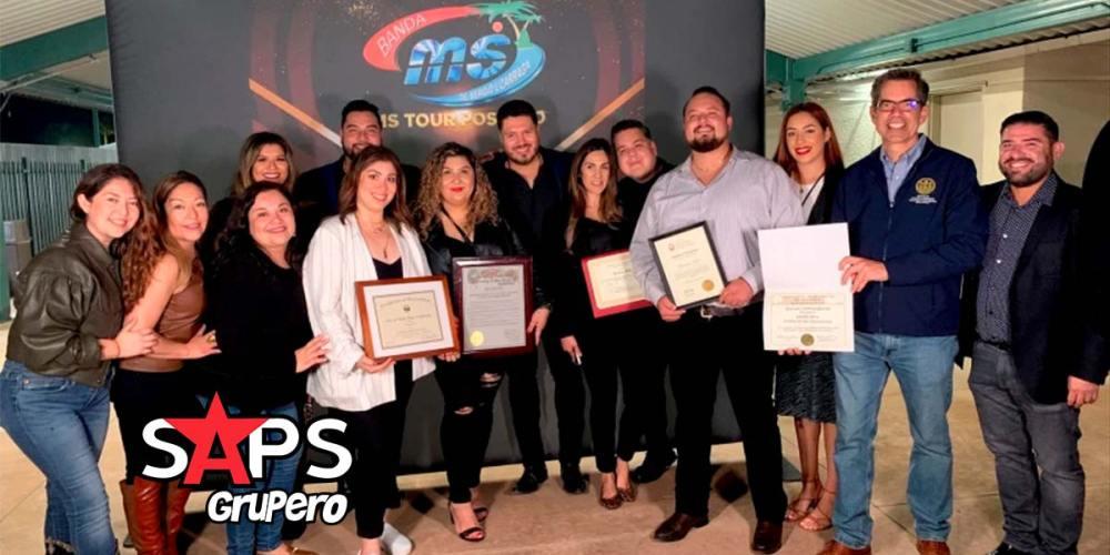 Declaran el 10 de octubre como día oficial de Banda MS en San Diego, California