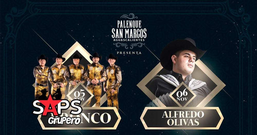 El Palenque de Aguascalientes contará con la presencia de Bronco y Alfredo Olivas