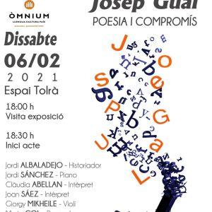 DATE 06Josep Gual Poesia i Compromis a l'Orfeó Badaloní