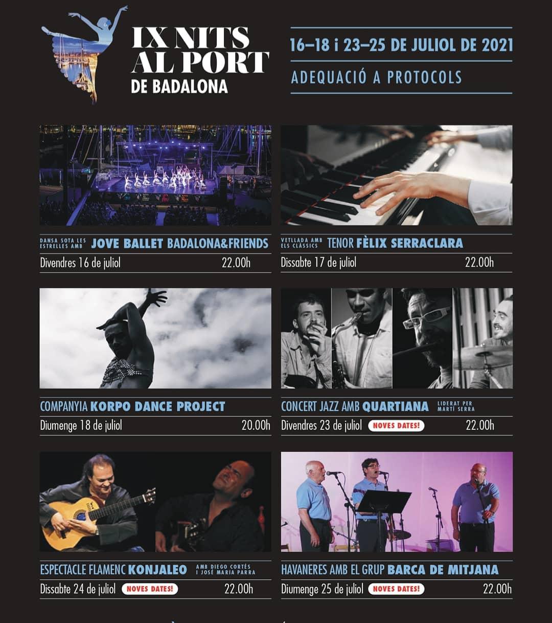 IX Festival Estiu Les Nits al Port 2021