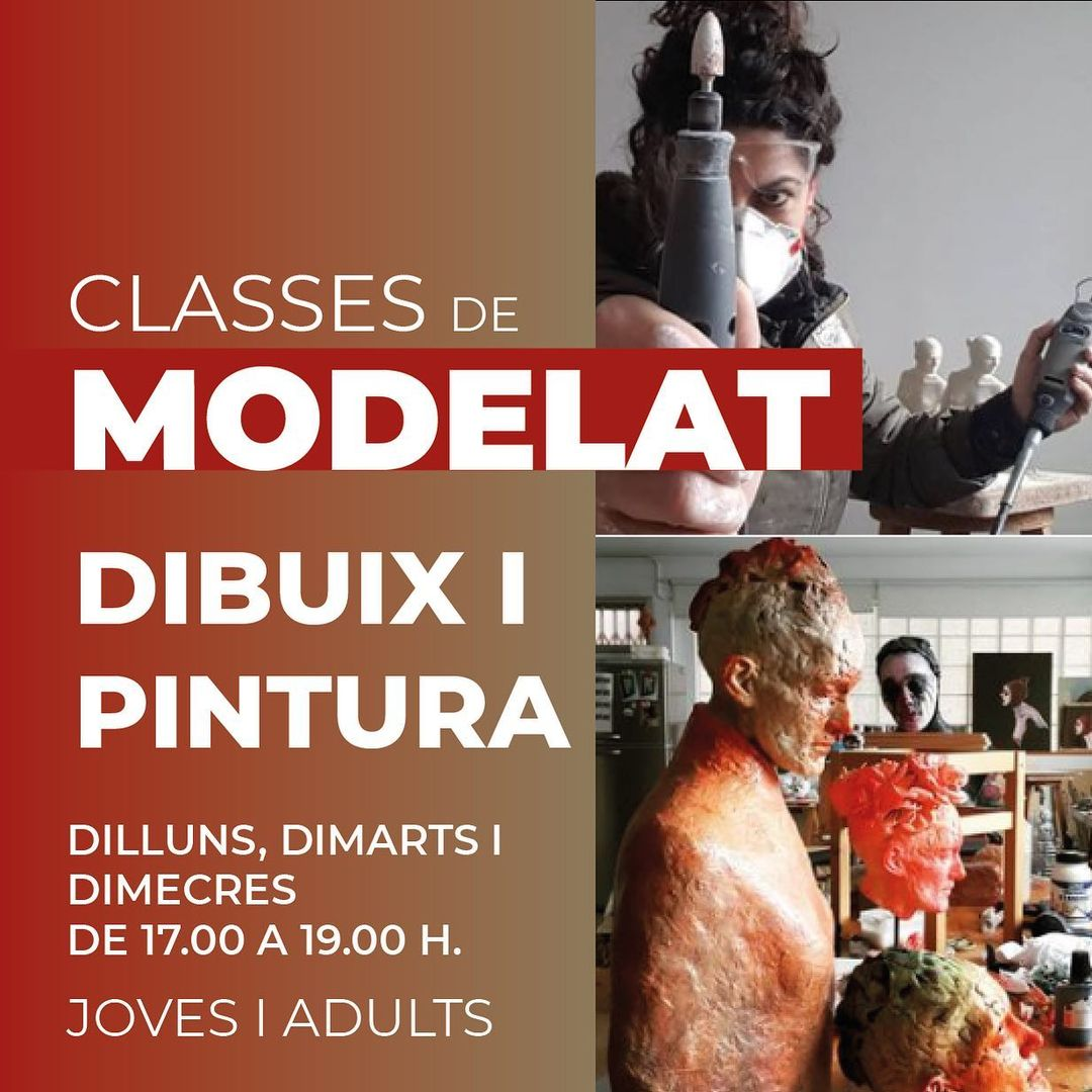 Laia Pla Classes Modelat, dibuix i pintura