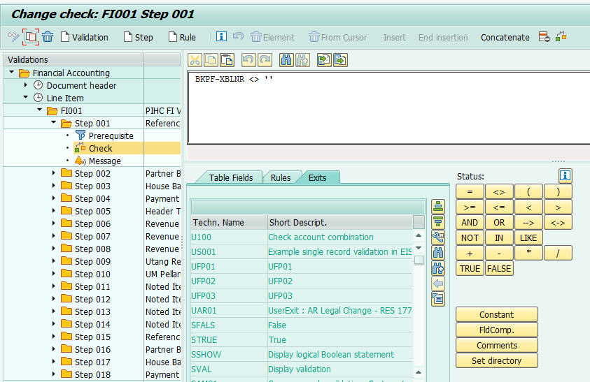 sap-validation-and-substitution-exit-routine