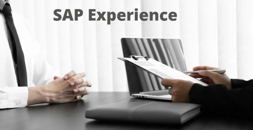 SAP Experience