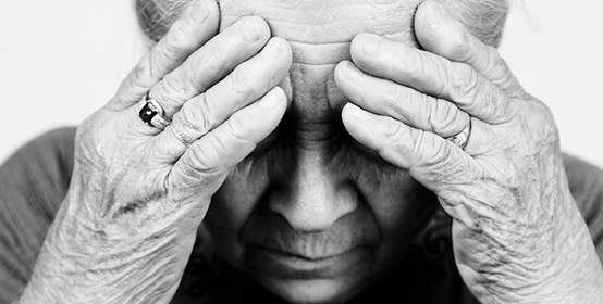 In my dementia and in my delirium
