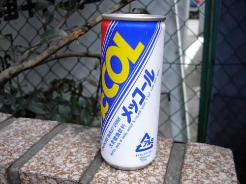 メッコール あまりにも有名? かもしれないメッコール。 このコーナー的にはこの飲み物は到達点でありスタート地点という感じかな・・  というか、ついに見つかっちゃい ...