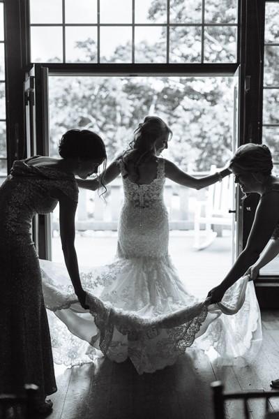 Glam, Elegant, Gold Wedding at Oak Hill by Sara Anne Johnson