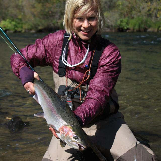 Kara Tripp - Damsel Fly Fishing Image