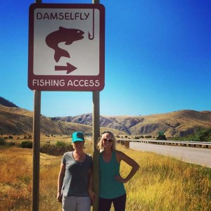 Lynae Axelson - Damsel Fly Fishing