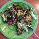 italian roasted broccoli salad