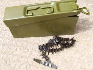 Mg34/42 Fallschrimjager lightweight ammo can.
