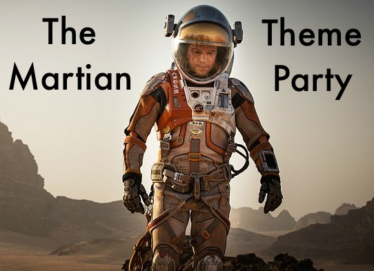 The Martian Theme Party Feature Image