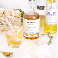 Cocktail Hour: Dillon's Rose Gin + Tonic