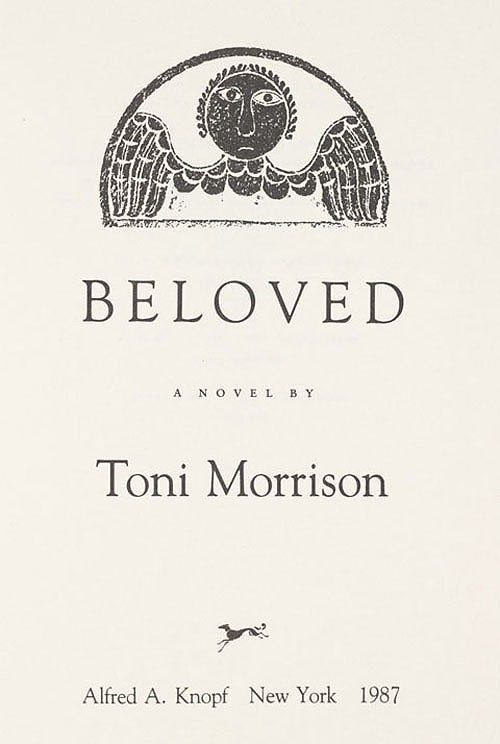 a love between mothers and daughters in toni morrisons beloved Krumholz, linda the ghosts of slavery: historical recovery in toni morrison's beloved african american review 263 (1992): 395, 14.
