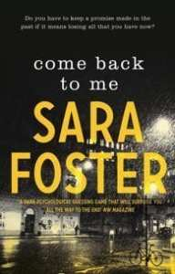 Come Back To Me by Sara Foster