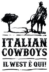 Italian Cowboys - logo verticale