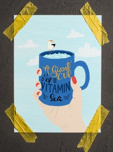 A Giant Cup of Illustration