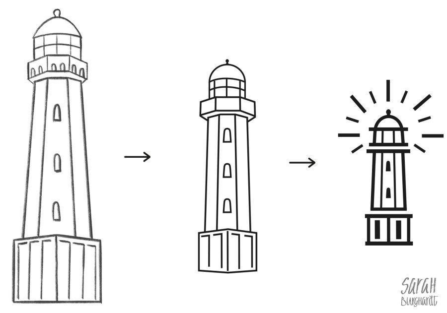 Entstehung des LeuchturmIcons