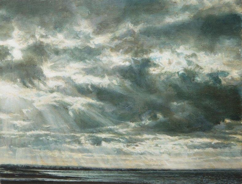 Sunset. Seasalter
