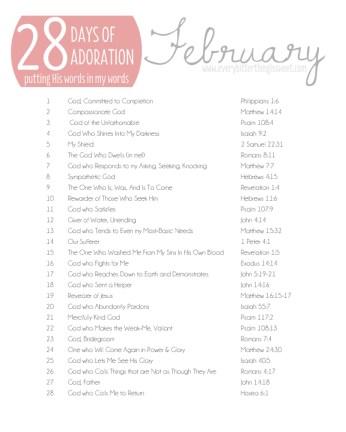 February Adoration 2013