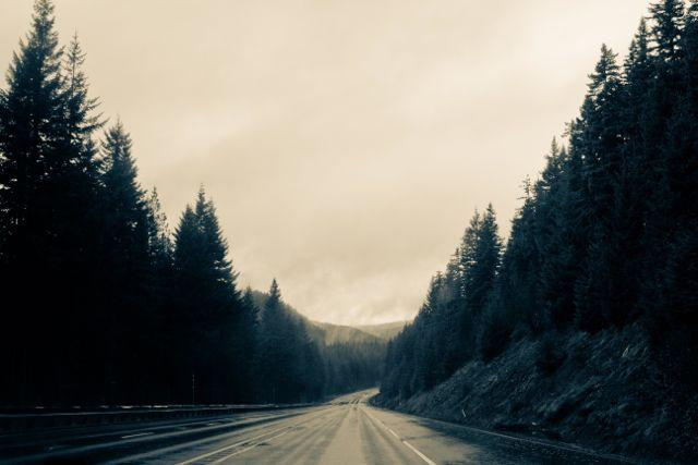 Road Mountains Cherish