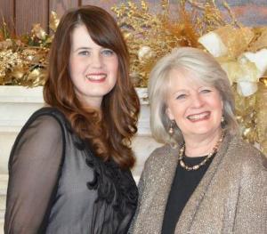 Sarah and mama