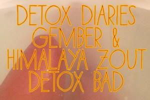 detox diaries sarahandbeauty