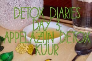 appelazijn detox kuur