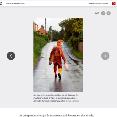 Rituale in England: Alte tradition, frisch belebt, Zeit 19.01.12 1/15