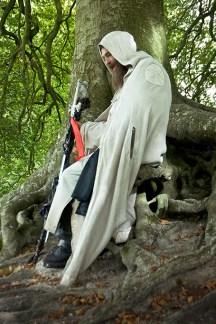Merlin of England, of the Loyal Arthurian Warband, Atumn Equinox, Avebury, Wiltshire, 2007