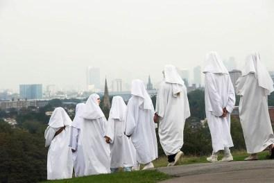 The Druid Order, Autumn Equinox, Primrose Hill, London