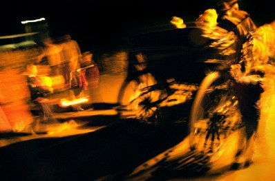 Punkie Night procession, Hinton St George, Somerset