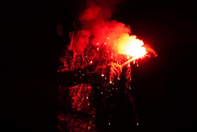 Barcombe Bonfire parade, Sussex