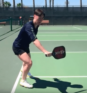 Notice In Two Handed Backhand