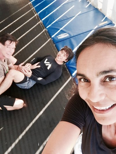 Photo of Sarah Badat Richardson, Burton Richardson, and Shaun Hara