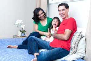 Family photo Sarah Badat-Richardson