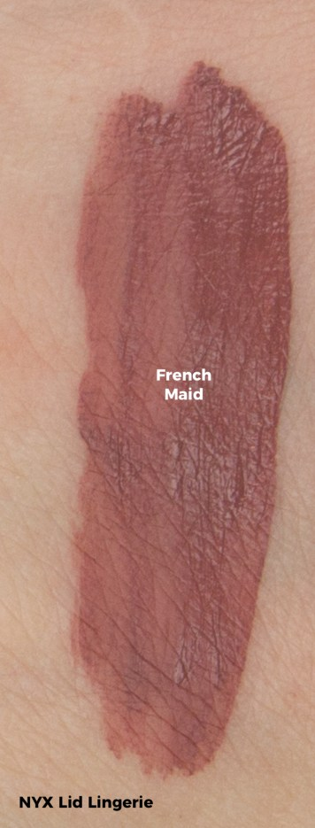 NYX Lip Lingerie Swatch - French Maid