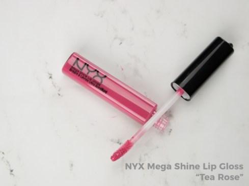 NYX Mega Shine Gloss - Tea Rose