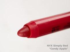 NYX Simply Lip Cream - Candy Apple