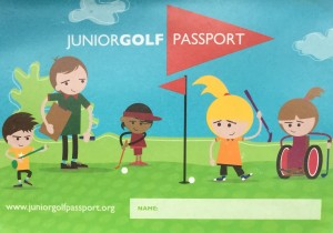 Junior golf Passport.