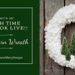 Winter Yarn Wreath Sarah Berry Designs