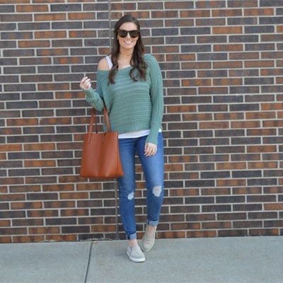 Weekend Style: Sneakers and a Casual Sweater