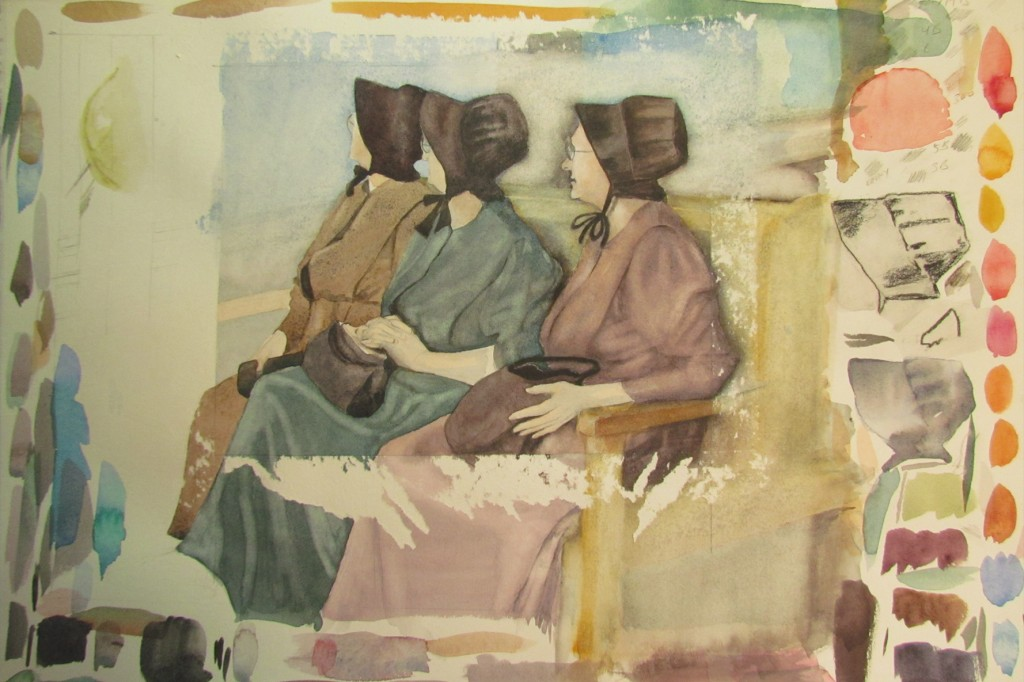 Three Mennonite Women