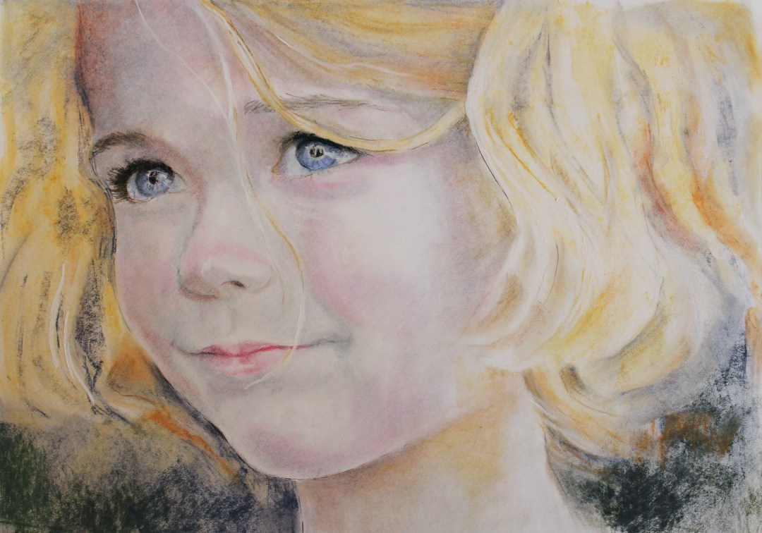 Pastel & Charcoal Pencil Portraits!