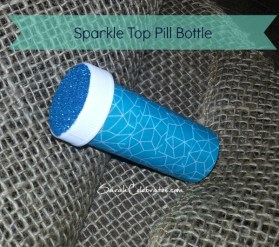#2usestuesday Sparkle Top Pill Bottle