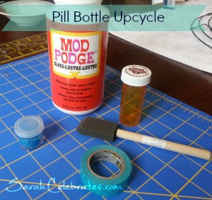 #2usestuesday Pill Bottle Upcycle