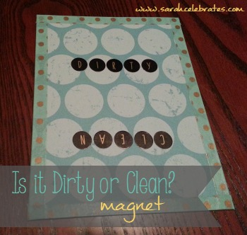 Dirty or Clean Dishwasher Magnet